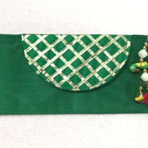 Green Parrot Check Shagun Envelope
