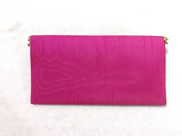 Magenta Gota Shagun Envelope with Magnetic Lock 3
