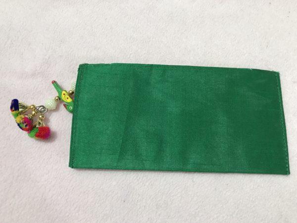 Green Parrot Check Shagun Envelope 4